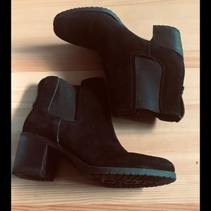 Sam Edelman Black Suede Boots Size 11